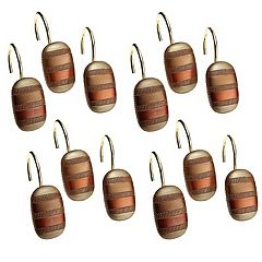 Contempo 12 pkShower Curtain Hooks