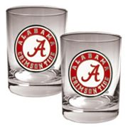 Alabama Crimson Tide 2-pc. Rocks Glass Set