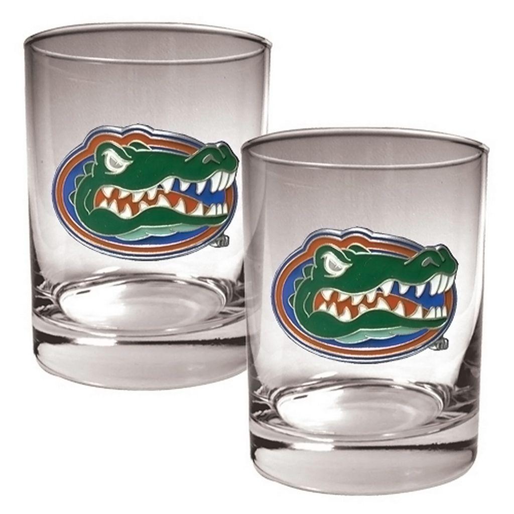 Florida Gators 2-pc. Rocks Glass Set