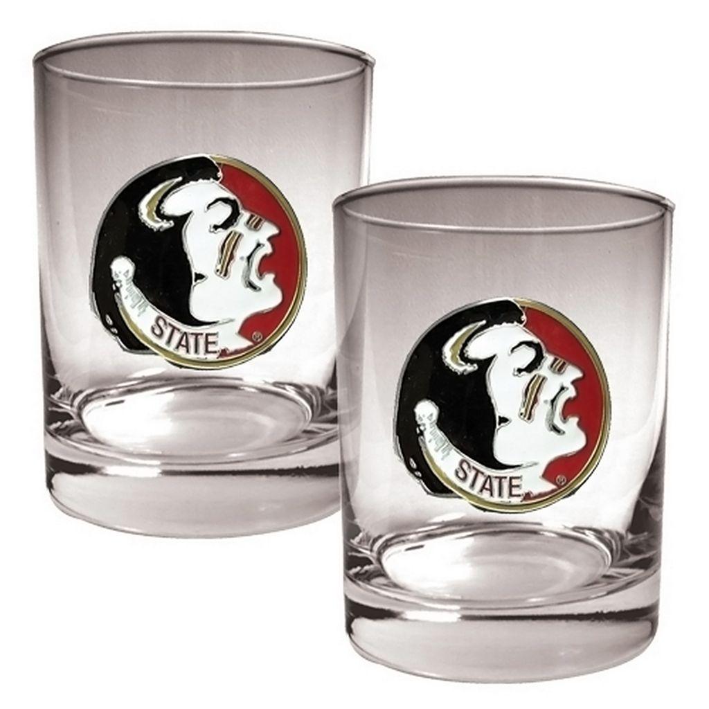 Florida State Seminoles 2-pc. Rocks Glass Set