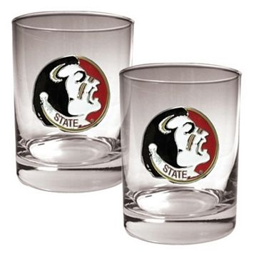 Florida State Seminoles 2-pc. Rocks Glass Set