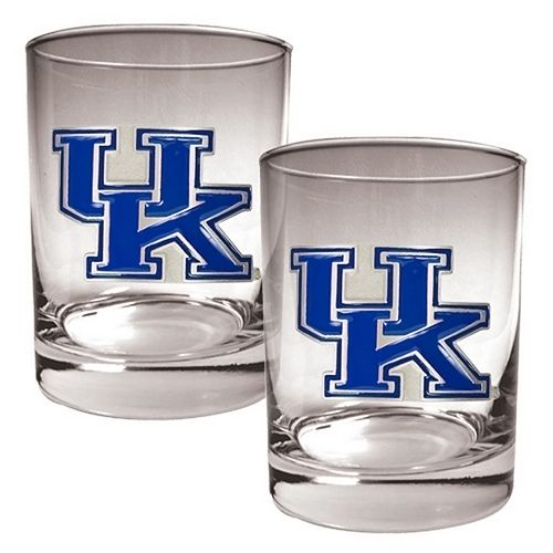 Kentucky Wildcats 2-pc. Rocks Glass Set