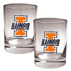 Illinois Fighting Illini 2-pc. Rocks Glass Set