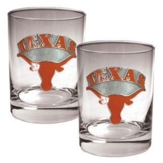 Texas Longhorns 2-pc. Rocks Glass Set