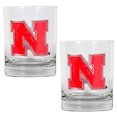 Nebraska Cornhuskers 2-pc. Rocks Glass Set