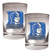 Duke Blue Devils 2-pc. Rocks Glass Set