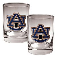Auburn Tigers 2-pc. Rocks Glass Set