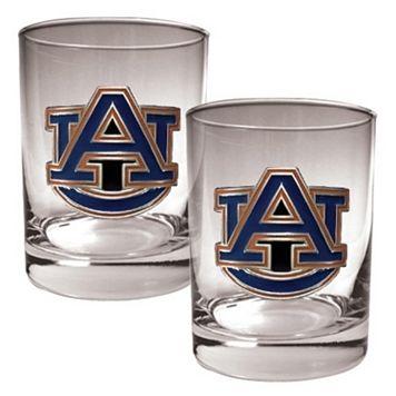 Auburn Tigers 2-pc. Rocks Glass Set