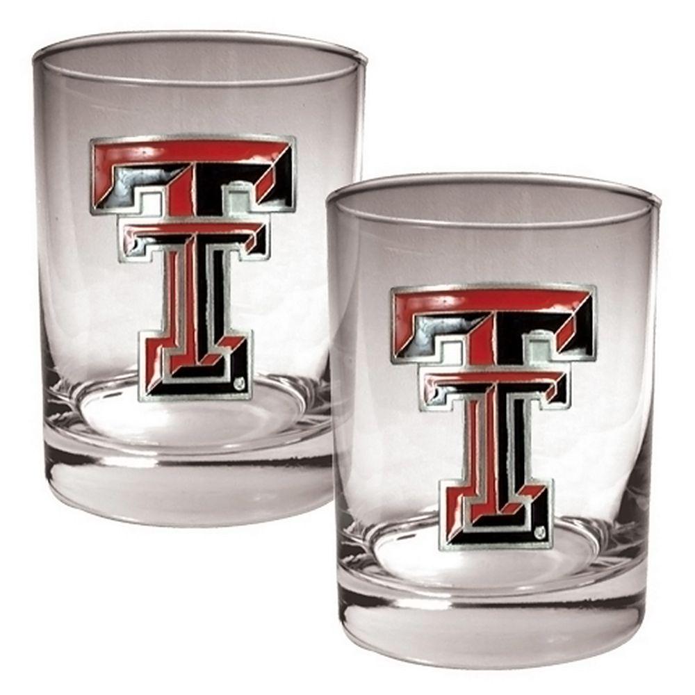 Texas Tech Red Raiders 2-pc. Rocks Glass Set