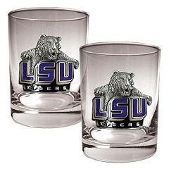 LSU Tigers 2-pc. Rocks Glass Set