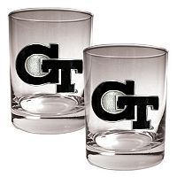Georgia Tech Yellow Jackets 2-pc. Rocks Glass Set