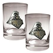 Purdue Boilermakers 2-pc. Rocks Glass Set