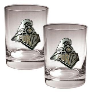 Purdue Boilermakers 2-pc. Rocks Glass Set
