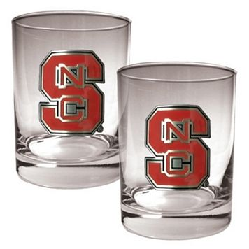 North Carolina State Wolfpack 2-pc. Rocks Glass Set