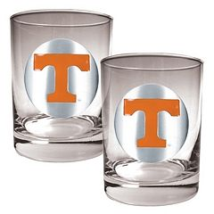 Tennessee Volunteers 2 pc Rocks Glass Set
