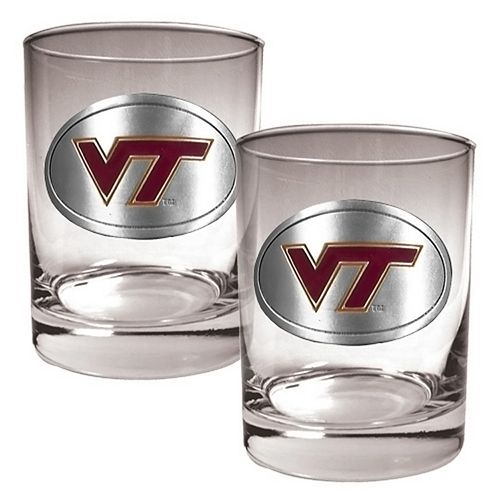 Virginia Tech Hokies 2-pc. Rocks Glass Set
