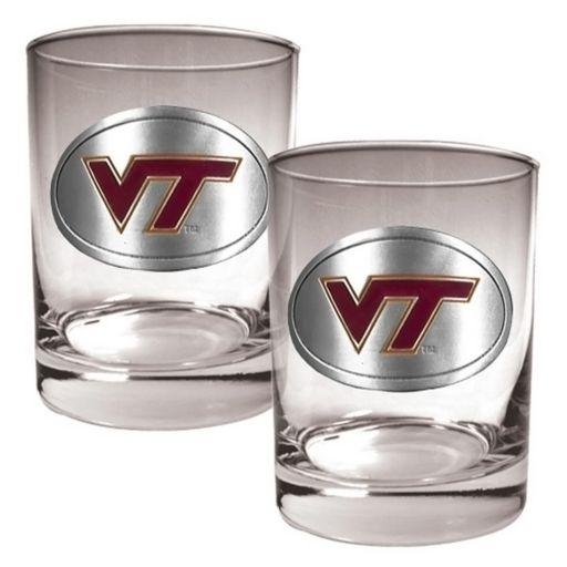 Virginia Tech Hokies 2-pc. Rocks Glass Set