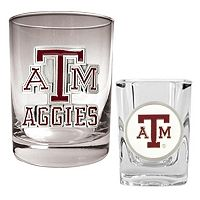 Texas A&M Aggies 2-pc. Rocks and Shot Glass Set