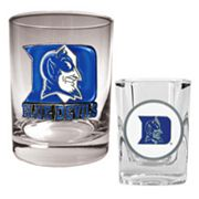 Duke Blue Devils 2-pc. Rocks and Shot Glass Set
