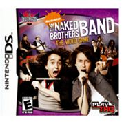Nintendo DS Nickelodeon The Naked Brothers Band The Video Game