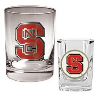 North Carolina State Wolfpack 2-pc. Rocks and Shot Glass Set