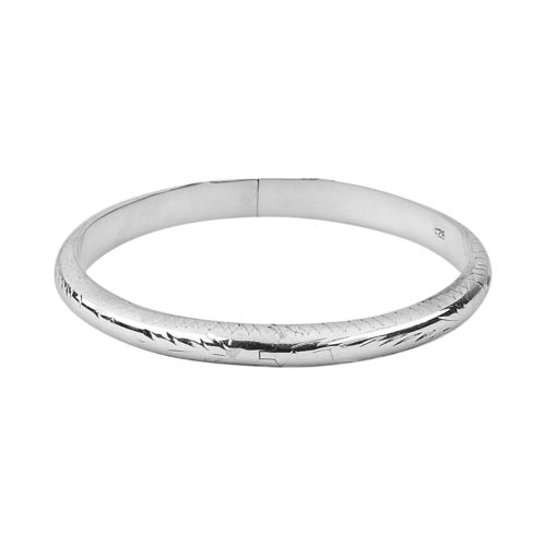 K'Dorable Sterling Silver Bangle Bracelet - Kids