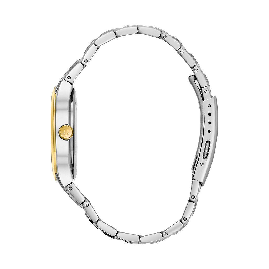 Bulova Men's Two Tone Stainless Steel Watch - 98C60K