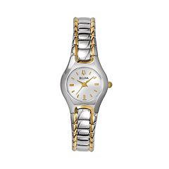 Bulova Women's Two Tone Stainless Steel Watch - 98T84K