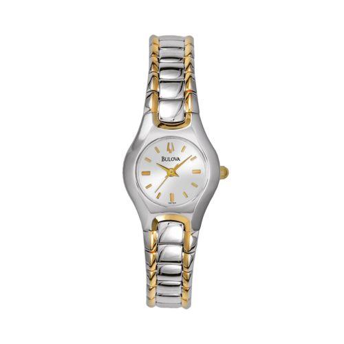 Bulova Watch - Women's Two Tone Stainless Steel - 98T84K