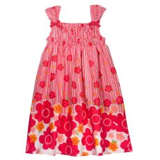 SONOMA life + style Floral Smocked Dress