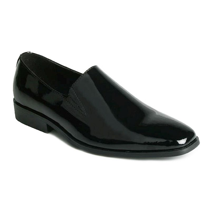 Stacy Adams Black Formality WideDress Shoes - Men