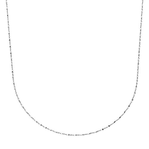 PRIMROSE Sterling Silver Serpentine Chain Necklace -20-in.