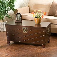 Nailhead Trunk Coffee Table