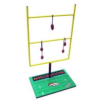 Denver Broncos Football Toss Game