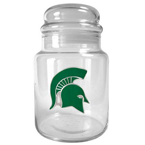 Michigan State Spartans Candy Jar
