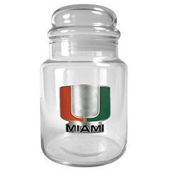 Miami Hurricanes Candy Jar