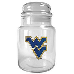 West Virginia Mountaineers Candy Jar