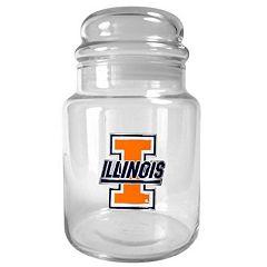 Illinois Fighting Illini Candy Jar