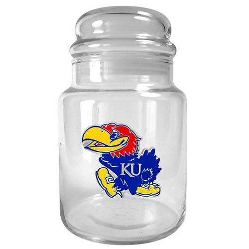 Kansas Jayhawks Candy Jar