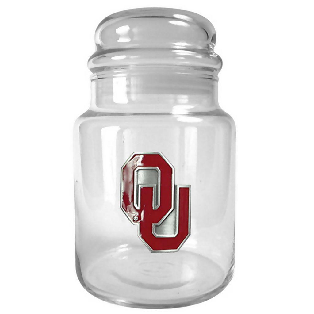 Oklahoma Sooners Candy Jar