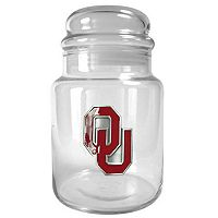 Oklahoma Sooners Candy Jar
