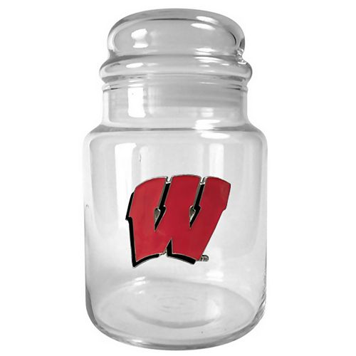 Wisconsin Badgers Candy Jar