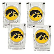 Iowa Hawkeyes 4-pc. Shot Glass Set