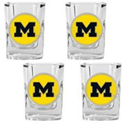 Michigan Wolverines 4-pc. Shot Glass Set
