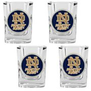 Notre Dame Fighting Irish 4-pc. Shot Glass Set