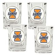 Illinois Fighting Illini 4-pc. Shot Glass Set