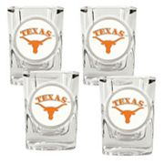 Texas Longhorns 4-pc. Shot Glass Set