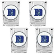 Duke Blue Devils 4-pc. Shot Glass Set