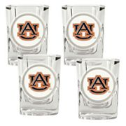 Auburn Tigers 4-pc. Shot Glass Set