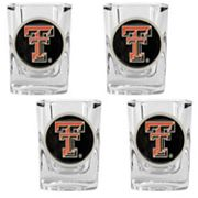 Texas Tech Red Raiders 4-pc. Shot Glass Set
